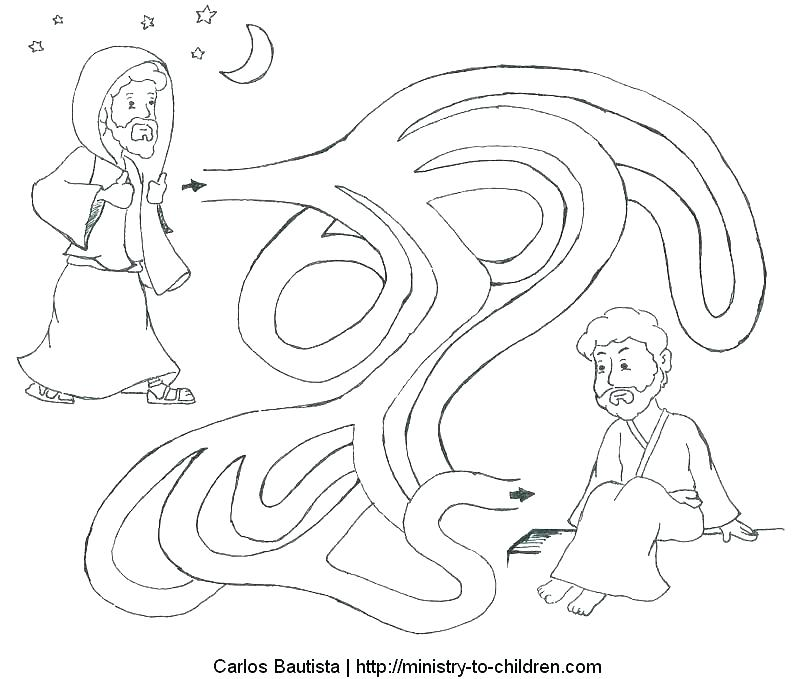 799x679 And Baby Coloring Page