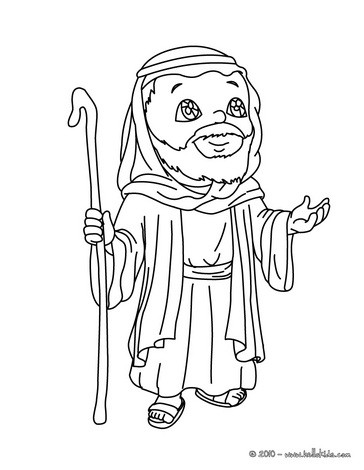 364x470 Mary, Joseph And Jesus Coloring Pages