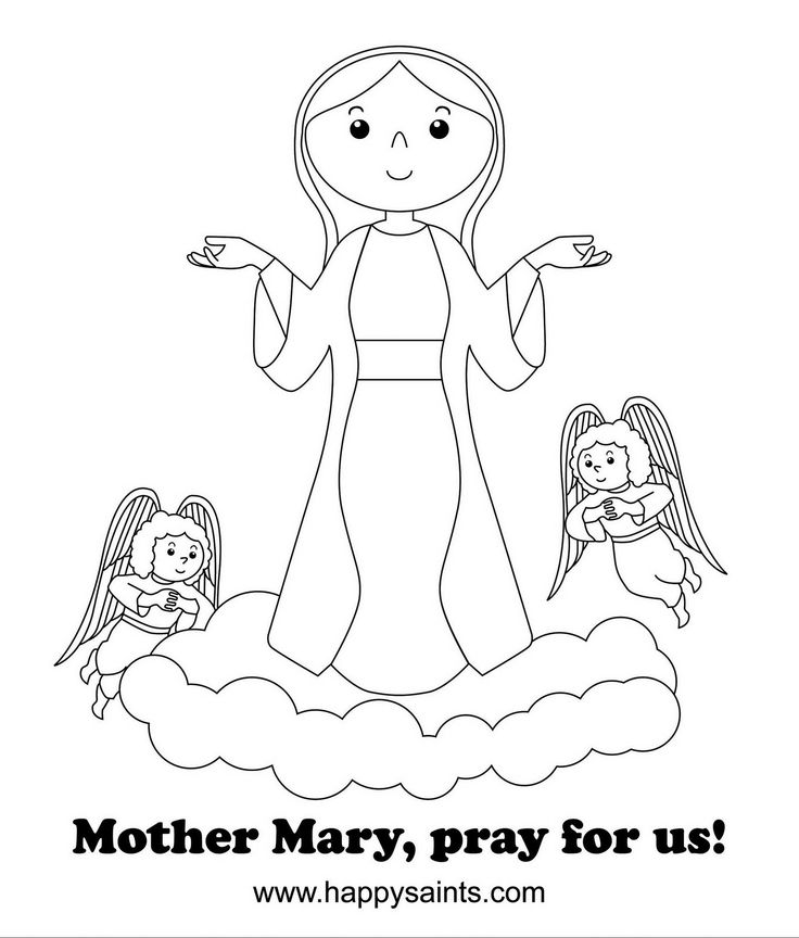 736x864 Coloring Pages Of Mary Mother Of Jesus