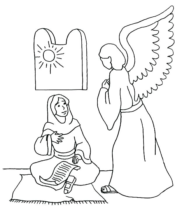 600x762 Mary Jesus Mother Coloring Pages Comfortable Gallery Resume Ideas