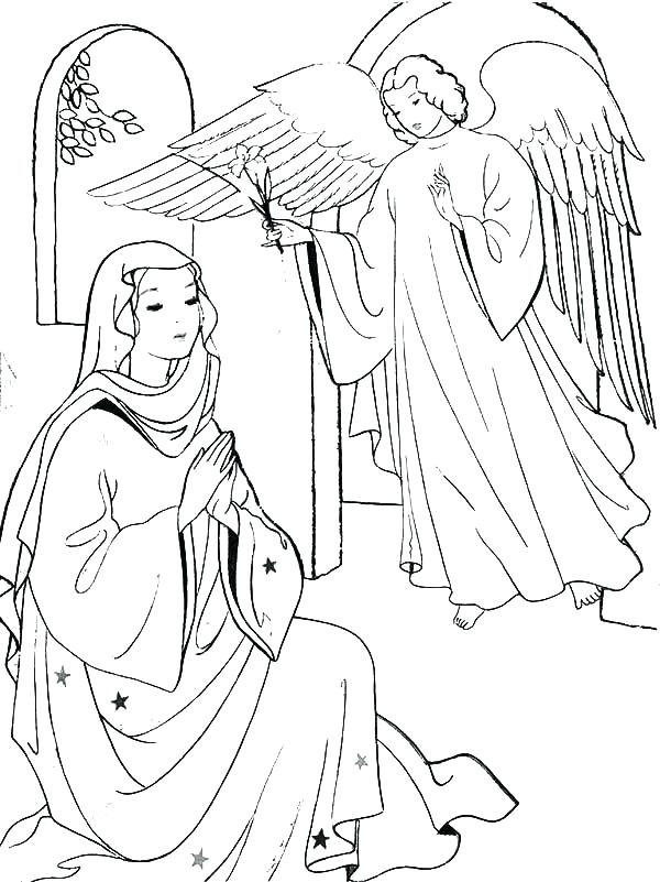600x801 Mary Mother Jesus Coloring Pagesd Coloring Pages Story