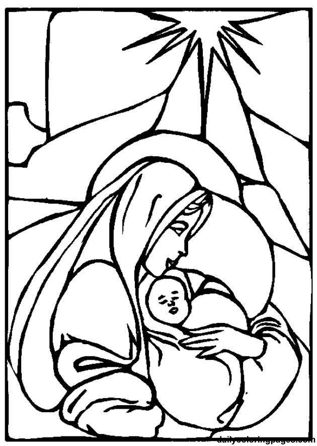 630x885 Mother Mary Coloring Pages Az Coloring Pages Coloring Page Mary