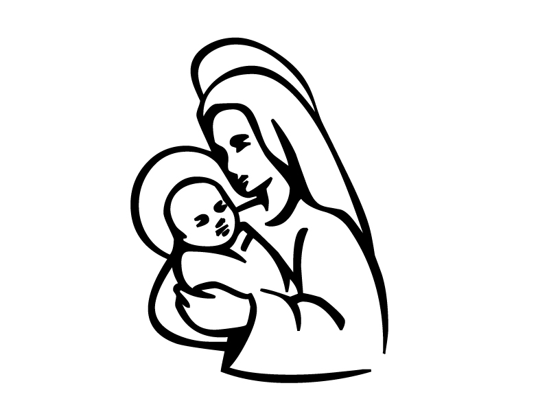 800x600 Religious Coloring Pages
