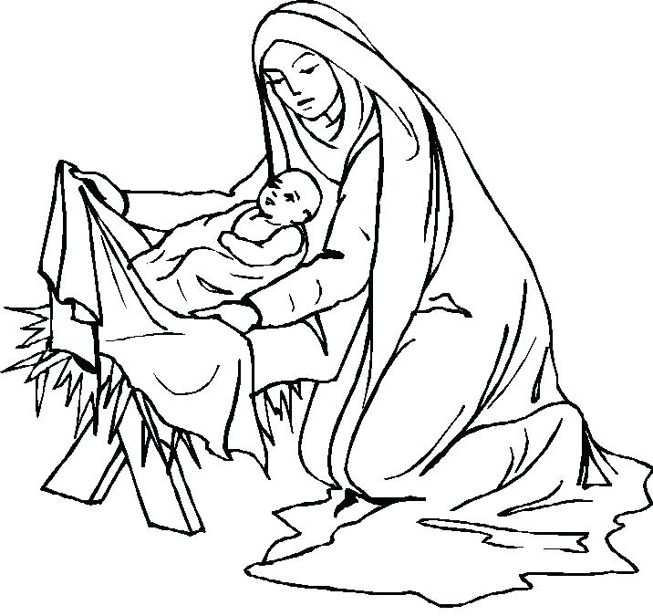 716x675 Coloring Pages M Stunning Mary Mother Of Jesus Coloring Pages