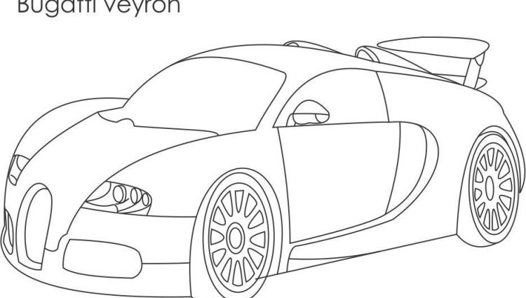 750x425 Maserati Coloring Pages Super Car Bugatti Veyron Coloring Page