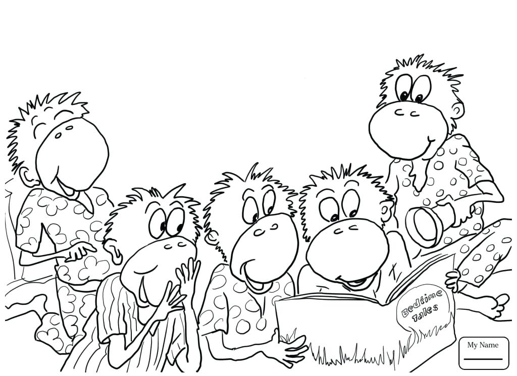 1024x745 Rocket Monkeys Coloring Pages