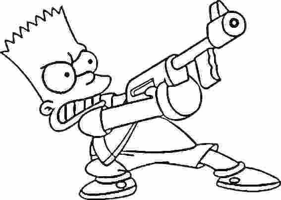 567x403 Gangsta Coloring Pages Homer Gangsta Colouring Pages Coloring