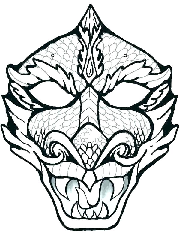 600x806 Mask Coloring Page Mask Coloring Pages Page Free Of Masks Pj Mask