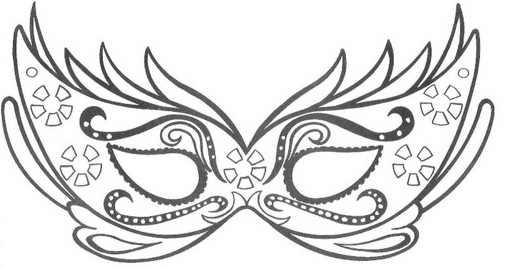 1048x537 Mask Coloring Pages Skillful Design Mask Coloring Pages Mask