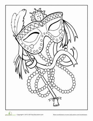 301x389 Mardi Gras Coloring Page Mardi Gras, Holidays And Adult Coloring