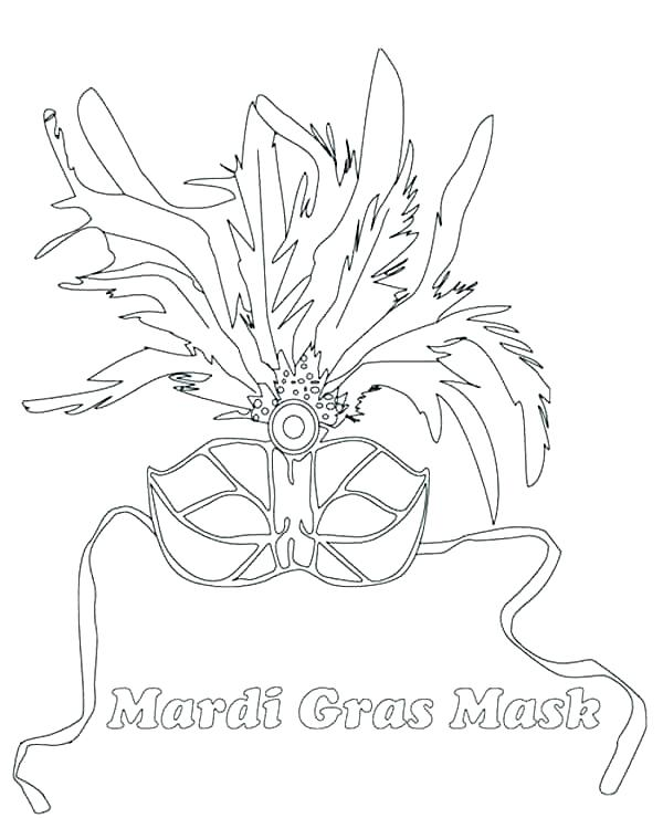 600x740 Masquerade Mask Coloring Pages Mask Template Funny Mask Template