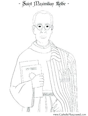 344x452 Catholic Saints Coloring Pages Catholic Mass Coloring Pages