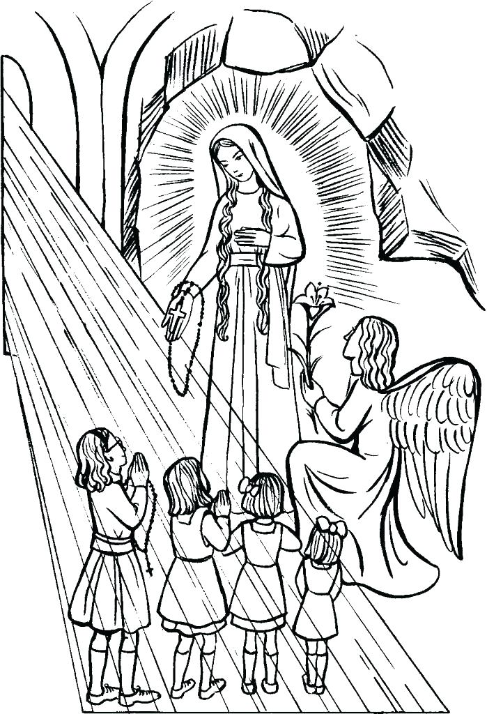 699x1024 Free Catholic Coloring Pages S Free Catholic Mass Coloring Pages