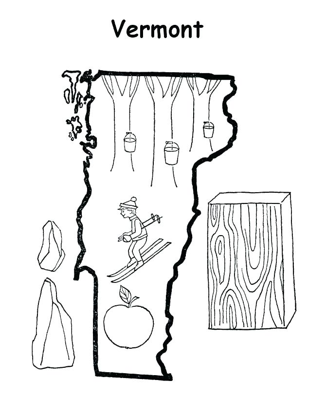 670x820 Massachusetts State Flag Coloring Page Coloring Pages For Kids