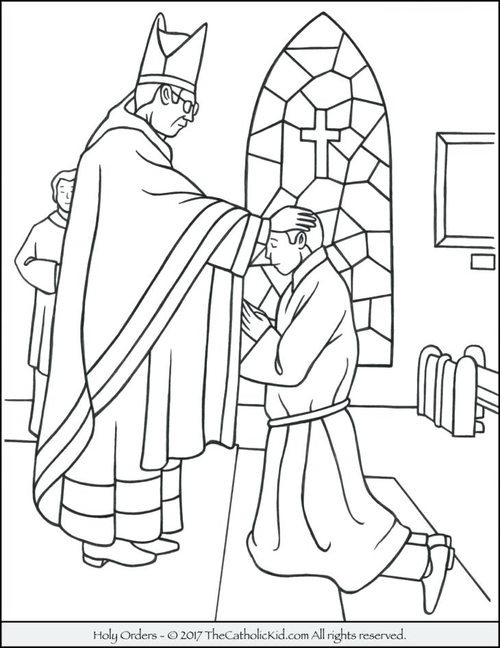 730x945 Sacrament Coloring Pages Catholic Mass Coloring Pages View Larger