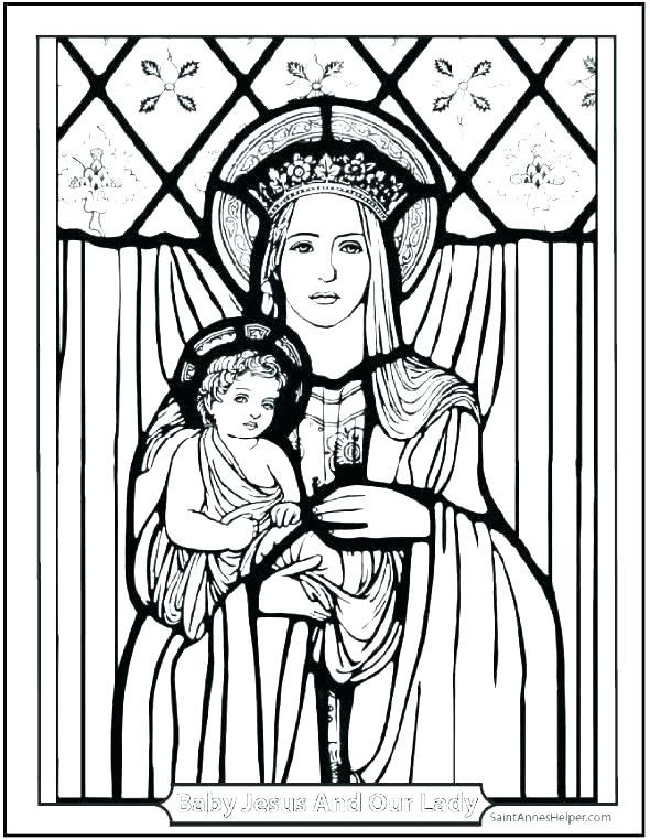 590x762 Catholic Coloring Pages Our Lady Of Coloring Page Best Of Catholic