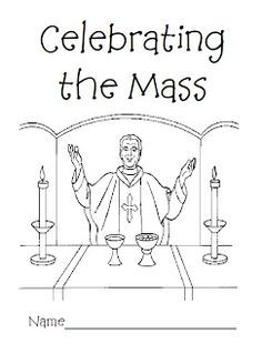 236x310 Catholic Mass Coloring Pages Cfp Activities