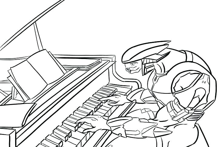 720x486 Halo Master Chief Coloring Pages Outstanding Halo Reach Coloring