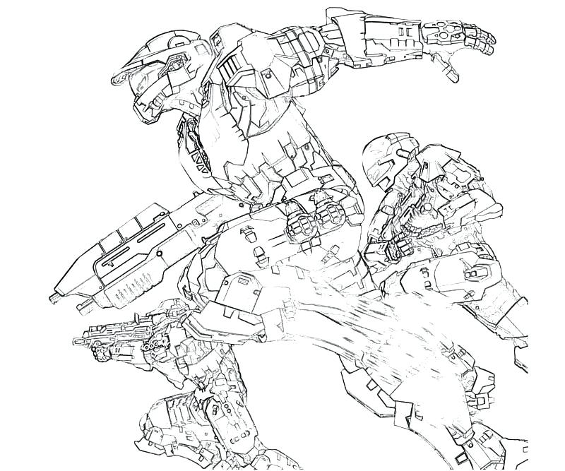 800x667 Halo Master Chief Para Colorear Outstanding Master Chief Coloring