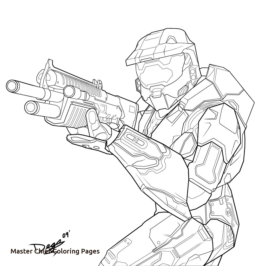 1024x1024 Master Chief Coloring Pages