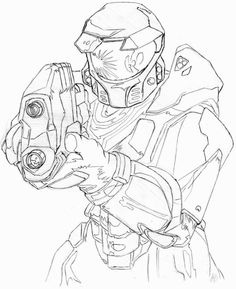 236x289 Halo Drawings