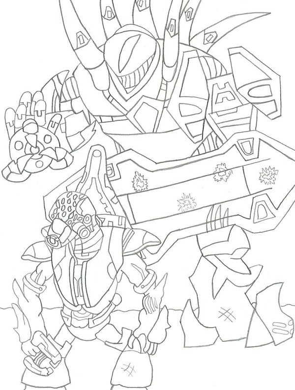 600x794 Free Printable Halo Coloring Pages For Kids