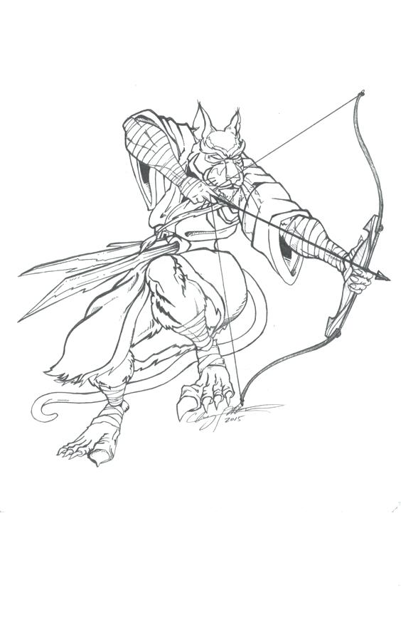 564x874 Master Splinter Coloring Pages Master Splinter Drawing Coloring