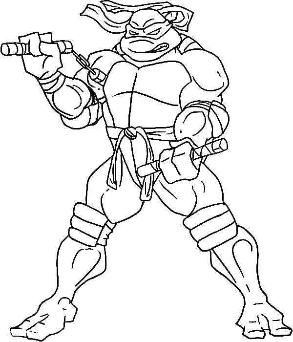 600x700 Tmnt Coloring Pages Master Splinter Sheet Leonardo