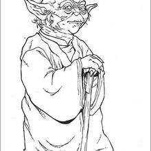 220x220 Master Yoda Coloring Pages