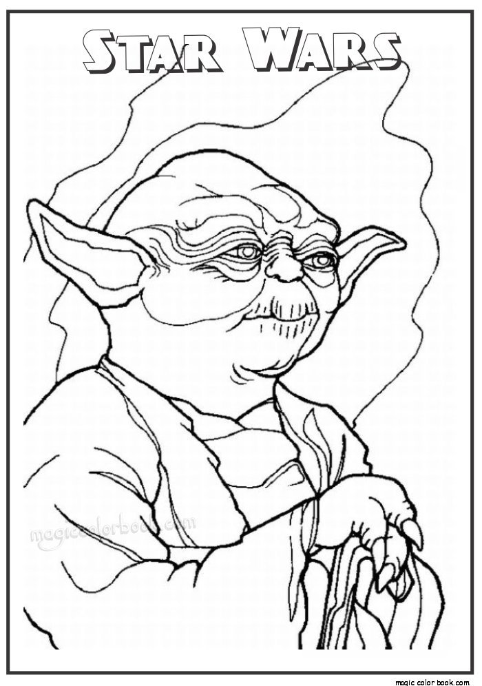 700x996 Star Wars Master Yoda Printable Coloring Pages