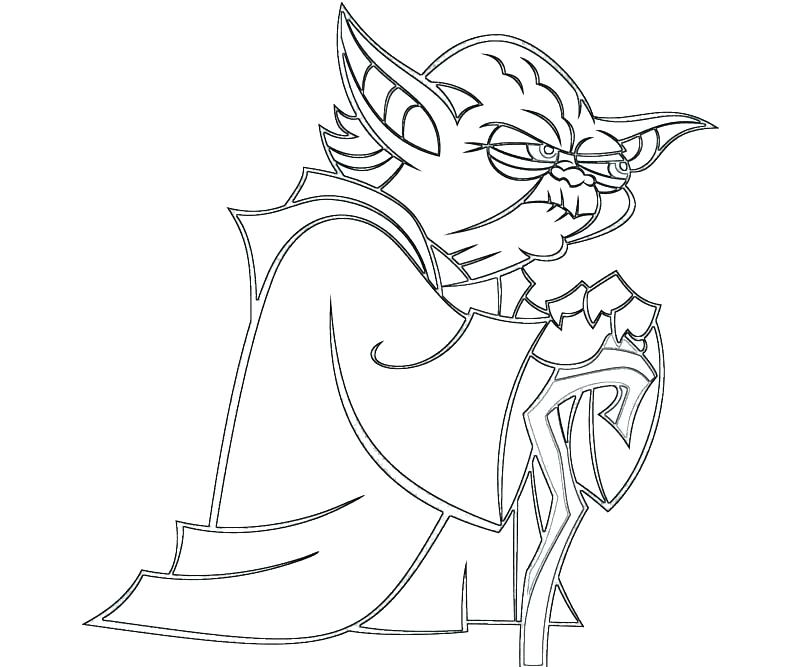800x667 Yoda Coloring Page Star Wars Coloring Pages Coloring Page Star
