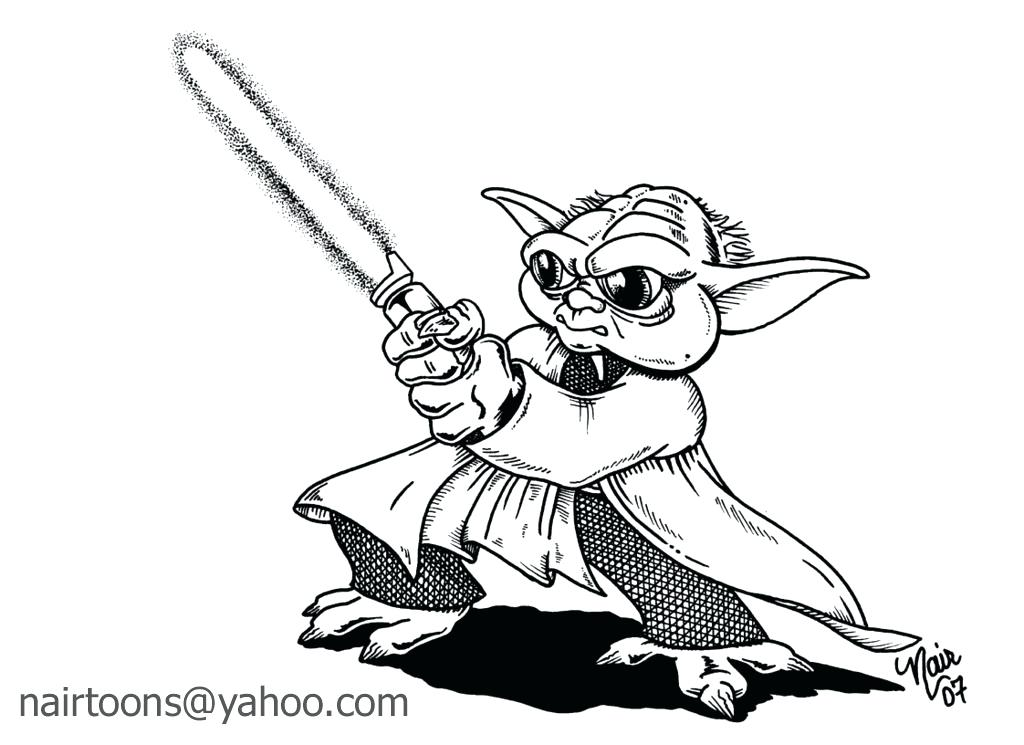 1024x745 Yoda Coloring Pages Images Of Simple Coloring Pages Star Wars
