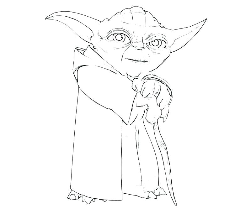 800x667 Coloring Yoda Coloring Pages Star Wars Master Yoda Coloring Pages