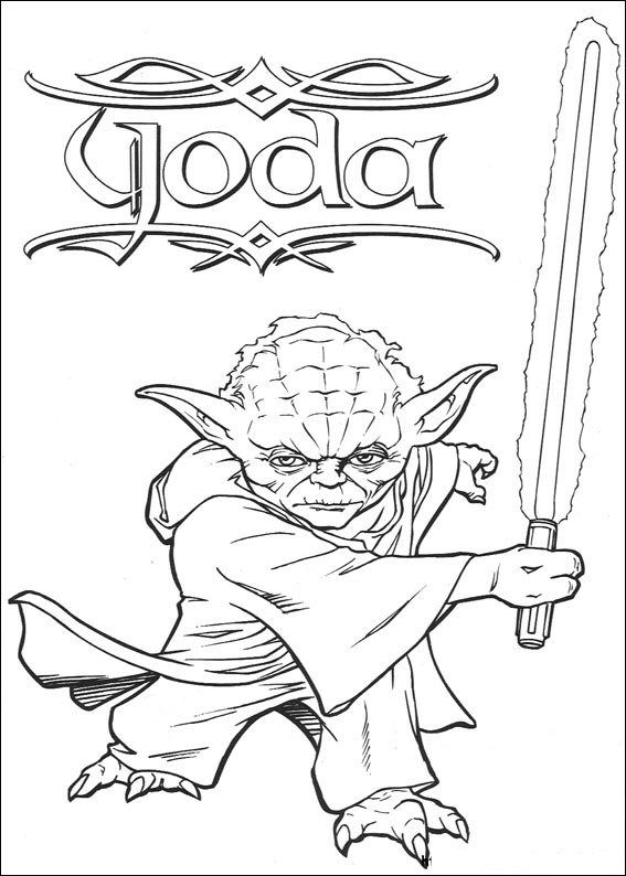 567x794 Coloring Page Star Wars