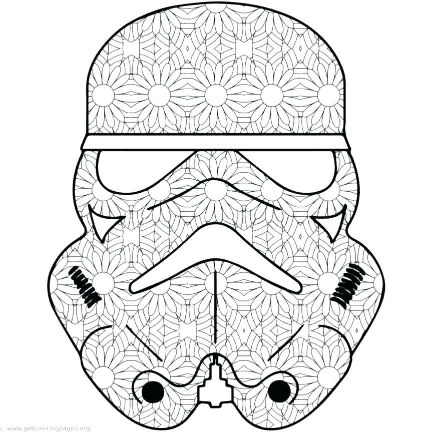 863x863 Star Wars Coloring Pages