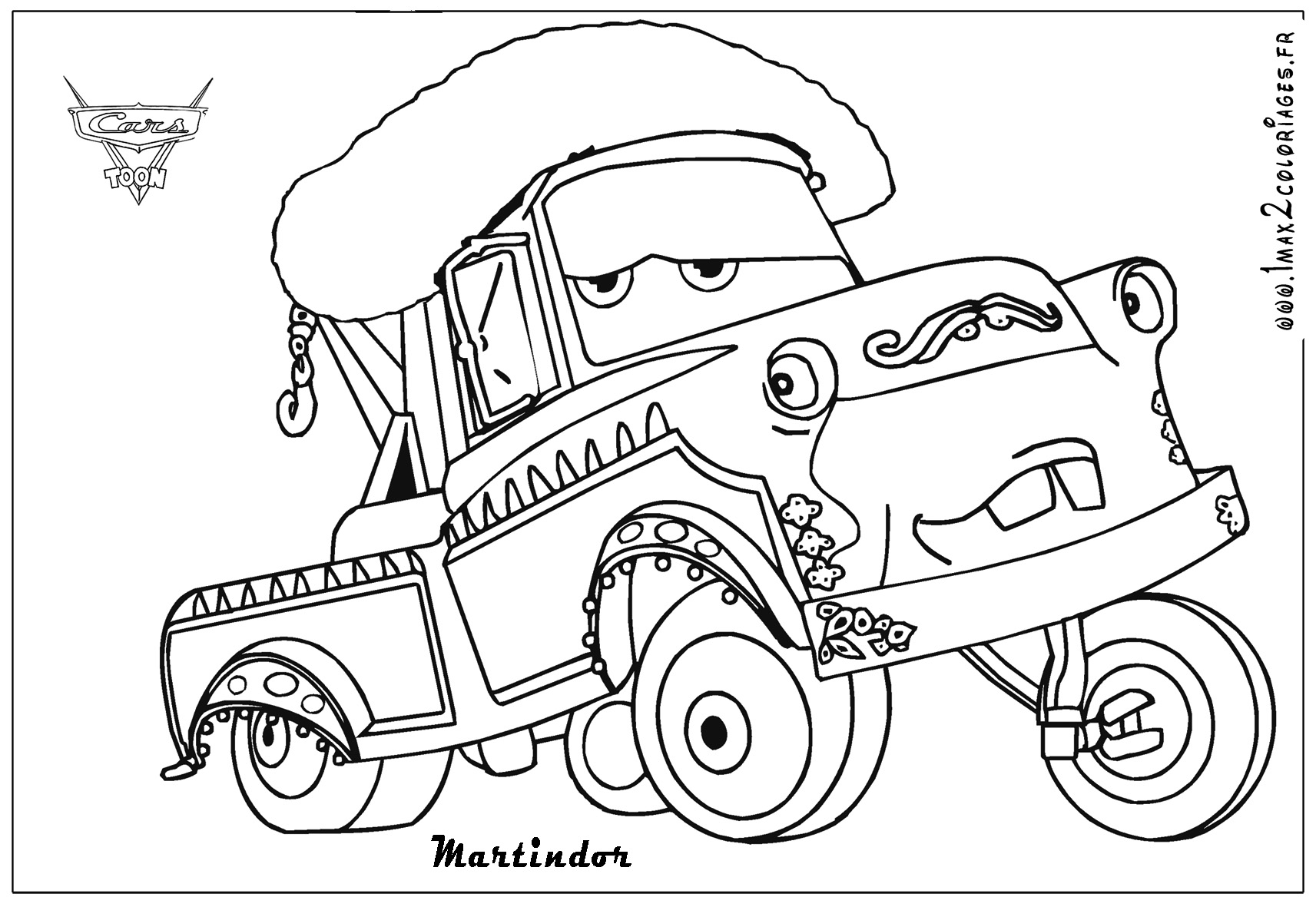 1713x1181 Extraordinary Design Cars Coloring Pages Mater Funycoloring