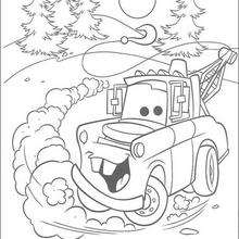 220x220 Mater Coloring Pages