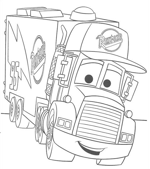 485x546 Mater Coloring Pages Free Exciting Mater Coloring Pages
