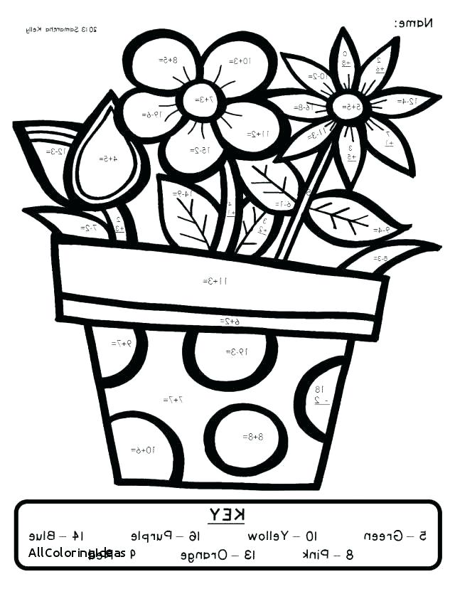 640x828 Grade Coloring Pages Math Color Pages Math Coloring Pages