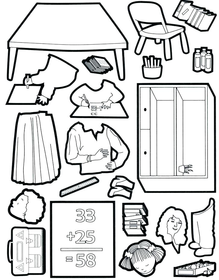 728x929 Math Coloring Pages Third Grade Coloring Pages Cut And Stick
