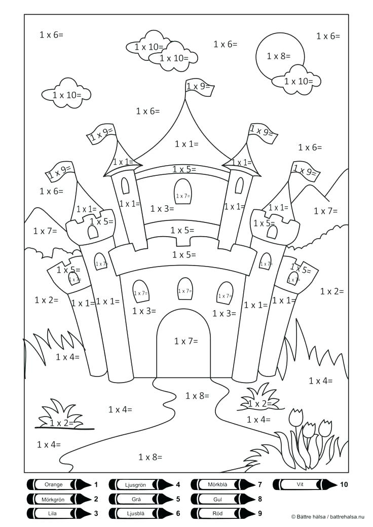 736x1040 Division Coloring Pages Summer Division Coloring Sheet Division