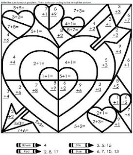 Math Problem Coloring Pages