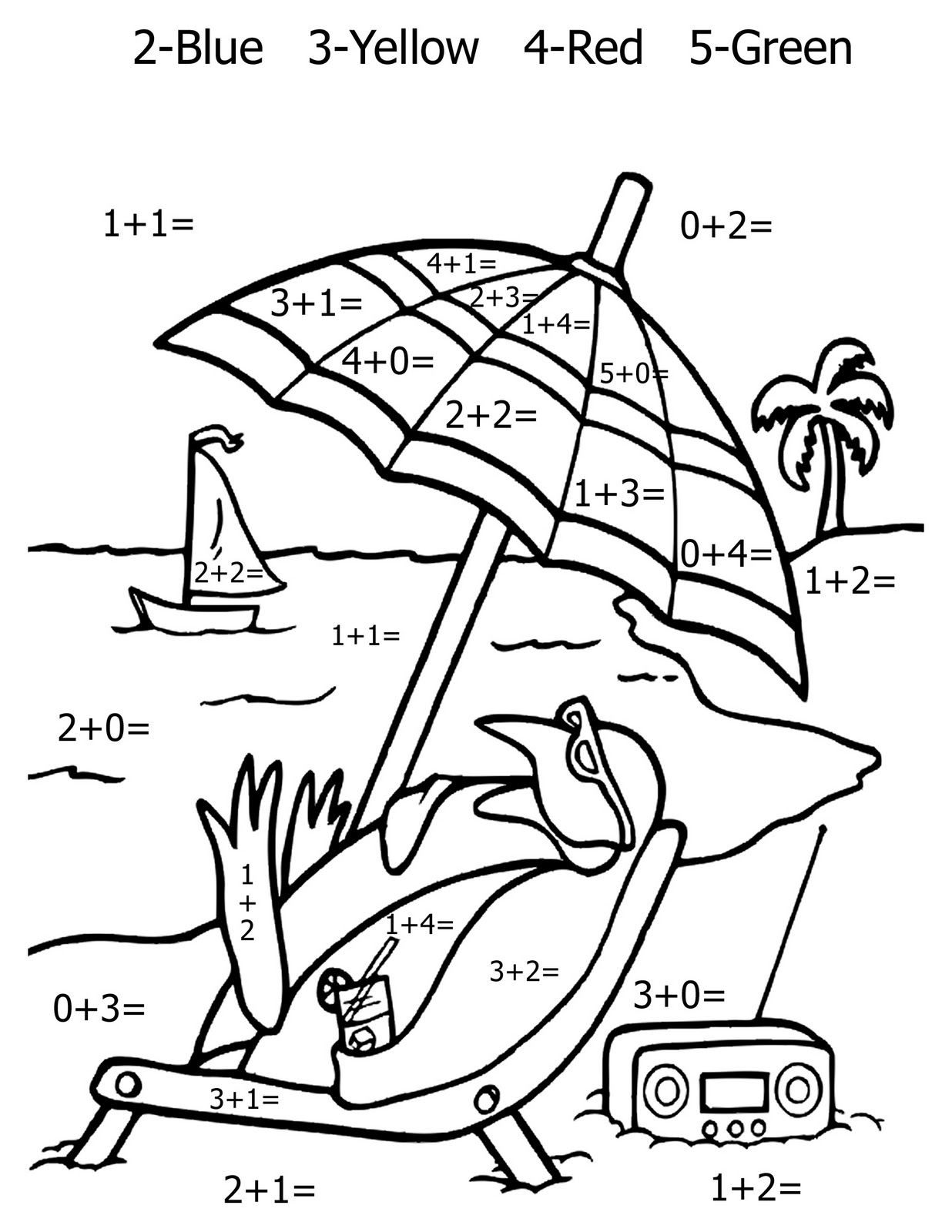 1236x1600 Free Printable Math Coloring Pages For Kids Child Help, Learn
