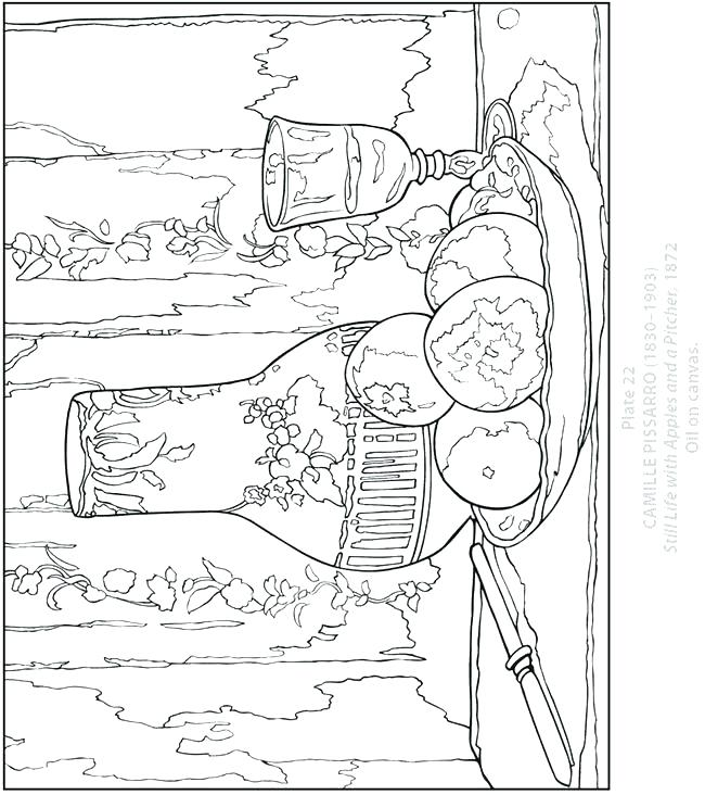 650x732 Matisse Coloring Pages Coloring Pages Coloring Pages Of Still Life