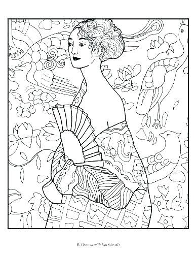 387x500 Matisse Coloring Pages Henri Matisse Colouring Pages