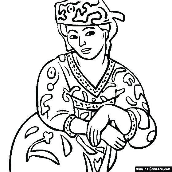 560x560 Matisse Coloring Pages