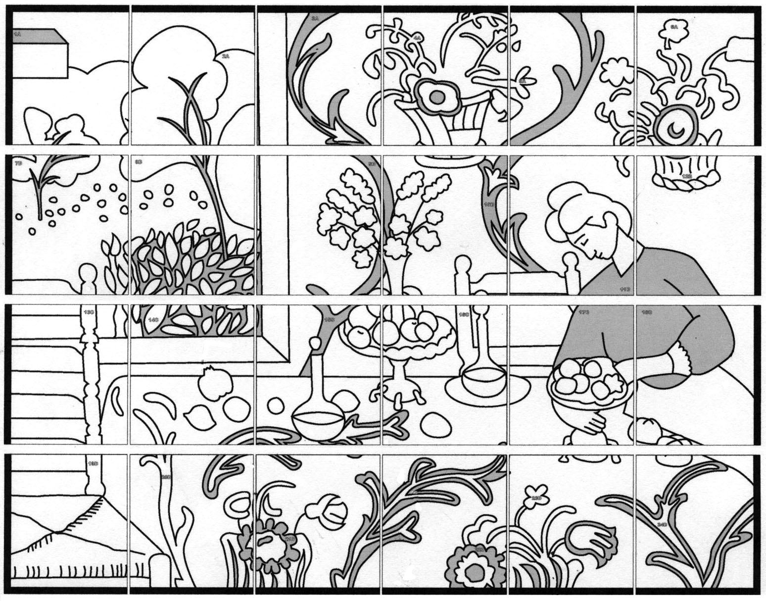 1548x1214 Henri Matisse Coloring Pages Printable Coloring For Kids