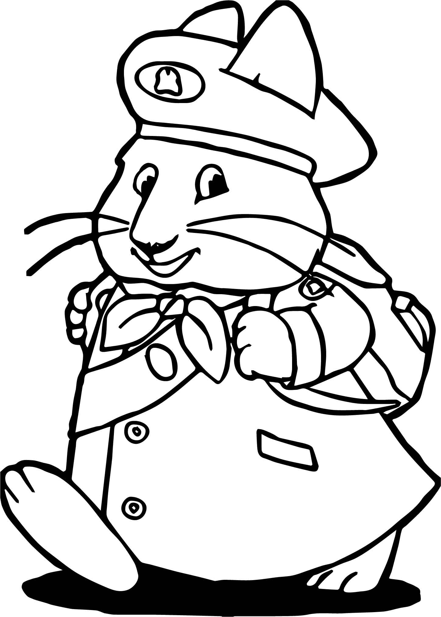 Max And Ruby Christmas Coloring Pages