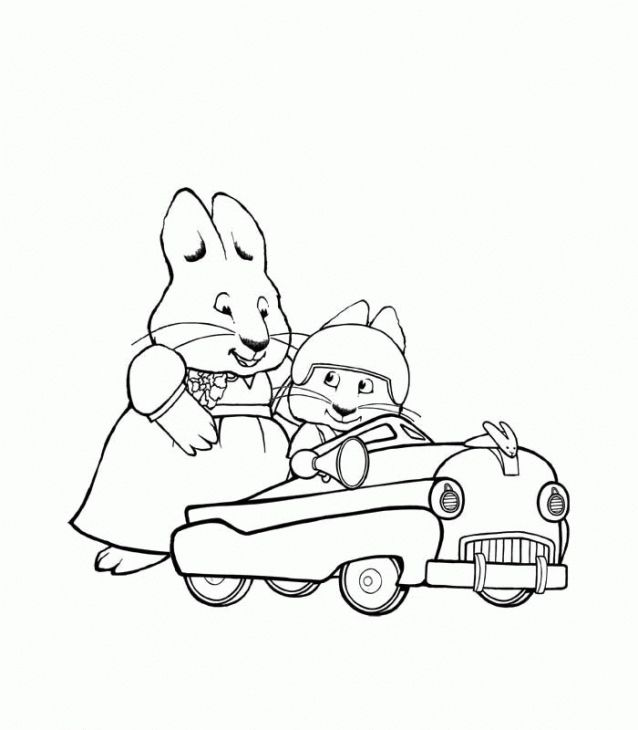 638x730 Max And Ruby Coloring Page To Print Out Nick Jr Coloring Pages