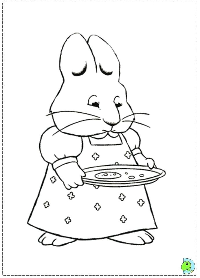 691x960 Max And Ruby Coloring Pages Great Max And Ruby Coloring Pages